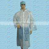 unisex disposable medical lab gown lab coats working coats