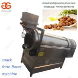 Fried Food Seasoning Machine|Automatic Fried Peanuts Seasoning Machine|Fried Snack Nuts Flavoring Making Machine