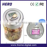 Hot selling OEM/ODM large coin counter jar