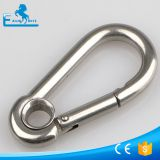 Stainless steel snap hook with ring