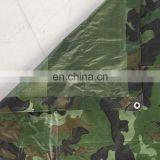 Factory Made PE Material Tarpaulin Repair Camo Tarps Camouflage Color For Outdoor Camping