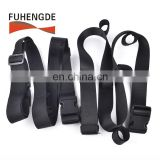 Newest Desigsn Nylon Webbing Fishing Rods Holder Straps With Magic tape