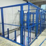 Goods Scissor Lift Used In Lifting Operations Over Large Areas Antiskid Plate