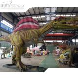 Life size outdoor and indoor realistic dinosaur statue