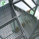 Stair treads steel safety grating anti skid stainless steel grate plates