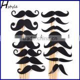Colorful Props On A Stick Mustache Photo Booth Party Fun Wedding Christmas Birthday Favor PFB0044