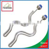 Stainless Steel 240V 5500W Ripple Screw In Electric brewery equipment heating element incoloy