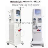 Hemodialysis Machine for renal failure patients with Double Pump LCD Touch Screen AJ-M2028