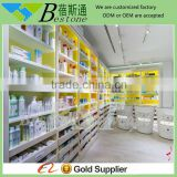 Modern retail store used wooden medical furniture display for sale