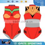 (ODM/OEM Factory)Custom Tankinis Set Sexy Bodysuit COMIC SWIMSUIT Digital Printing Swimwear Women