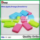 different color white orthodontic colored wax