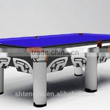 9ft slate American pool table french pool billiard table on sale