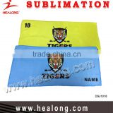 China manufacturer high quality microfiber promotional custom football towels