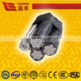 AAC ACSR AAAC Conductor and XLPE insulation Service Drop Aerial Bounded Cable 25mm2 35mm2 50mm2 70mm2