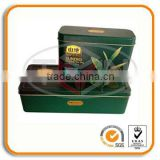 Organic tea tin box sets