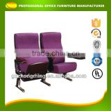 Modern Purple Folding Auditorium Chair/Fabric Theater Chair/Commercial Cinema Seats LT-022