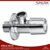 Bathroom toilet brass angle valve red and blue ball angle valve
