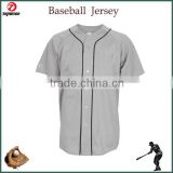 Digital printing anti-uv plain baseball jersey shirts