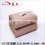 100% synthetic wool fabric electric blanket with heating element
