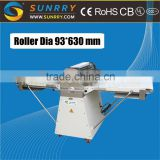 Hot sale dough sheeter 750W electric dough sheeter machine roller size bakery equipment dough sheeters (SY-DS650 SUNRRY)