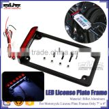 BJ-LPL294-002 Customized Motorbike License Frames Motorcycle License Plate LED for Harley