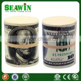 gift mini pu foam money wad stress toy ball
