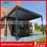 prefabricated vertical aluminum louver roof