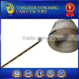 Nickel Copper with Mica Tape Insulated and Fiberglass Braided 600V 450C heating MGT Wire