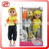 18 inch cheap china toys doll with summer sport cloth set ABS and EN71