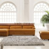 2014 Modern italian leather sofa model OEM service