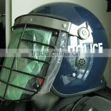 police anti roit protection helmet with steel vosir for law enforcement and military. suppiler FBK-3