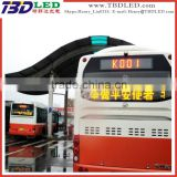 program led bus message digital signs board display