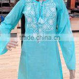 Beautiful embroidery Cotton Summer Tunic
