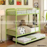 Cheap Bed Design Bunk Bed/Steel Bunk Bed/Double Decker Bed/Shandong Metal Bunk Bed