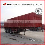 High quality van type cargo semi trailer truck for carrying home appliances, textiles, and building materials