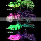 10.3g/55cm 4colors frog bait for fishing tackle ,stainless steel hook