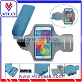 2015 Pay pal Payment Reflective Sport Armband case for iPhone 6 4.7 inch, Lycra Neoprene Fabric Armband