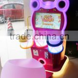Entertament The Little Drummer Baby 22' Monitor Screen Video Game Machine For Music Children Player