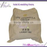 wholesale cotton laundry bags for hotels, 45*55cm;