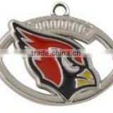 Hot NFL Charms Enamel Arizona Cardinals Football Charms For Bracelet