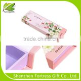 wholesale foldable flower paper gift box & flower print gift box, foldable flower paper gift box