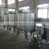 Stainless steel vessel cleaning machine