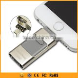 3 IN 1 16GB 32GB 64GB USB Flash Drive For iPhone And Android                                                                         Quality Choice