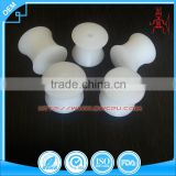 OEM small white injection mould Nylon plastic pulley