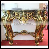 Original manufacturer in GZ OEM luxury console table set hallway console table and mirror mirrored console table