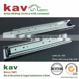 non-deformable under extra heavy loading ball bearing industrial drawer runner for storage compartments