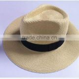 2013 mens summer beach maroon fedora boater cap custom panama hat wholesale                                                                         Quality Choice