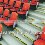 ergonomic indoor VIP stadium seat,retractable seating system,bucket seating for public sports like soccer,cricket,football