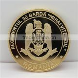 Custom Gold Plated Copper Coin