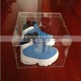Elegant custom acrylic clear sneaker box